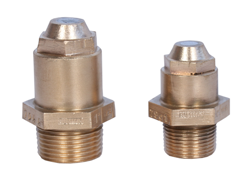 Bronze Fusible Plugs TWO PIECE WATERSIDE / WET